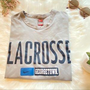 ⚡️5/$15⚡️ Georgetown Nike Lacrosse Long Sleeve